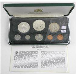 Trinidad & Tobago 10th 8-Coin Anniversary Proof Se