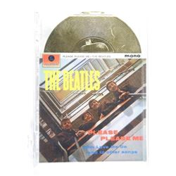 The Beatles 1996 Sportstime Gold Record insert Car