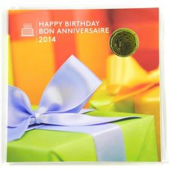 2014 5- Coin Birthday Gift Folio Special Issue Loo