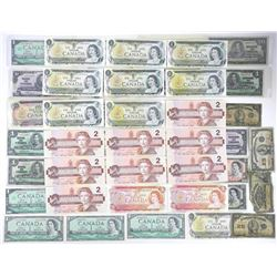 Estate Lot - Banknotes Canada Approx 131.00 Face