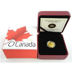 2013 .9999 Fine Pure Gold $5.00 Coin 'Polar Bear'