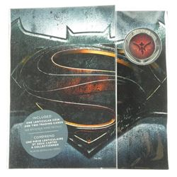 Superman 25 Cents Lenticular Coin and Card Folio.