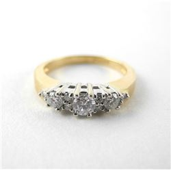 Ladies 14kt Gold Diamond Ring (.53ct) (SI-G) 4.10g