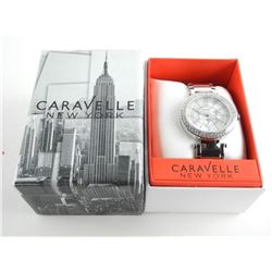 Caravelle New York Ladies Fancy Watch Swarovski Di
