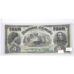 Dominion of Canada (FIS) 1902 4-Dollars.