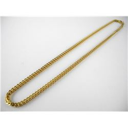 18kt Gold Plated over Stainless Steel Square Tube