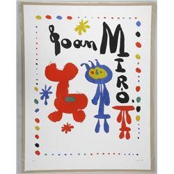 "Joan Miro 17x22"" 'Poster'"