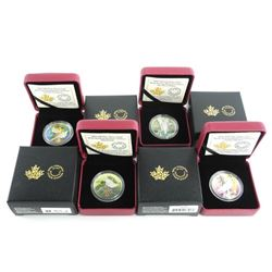 Grouping of (4) .9999 Fine Silver $10.00 Coins 'Bi