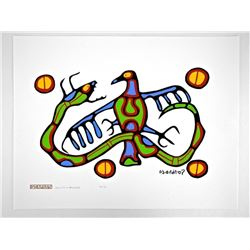 Norval Morrisseau (1931-2007) 'Duality in Balance'