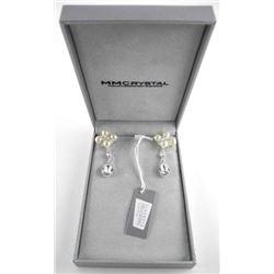 Custom Design by MM Crystal Fancy Drop Earrings 19