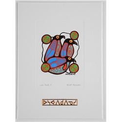 Norval Morrisseau (1931-2007) Cameo Collection 4x6