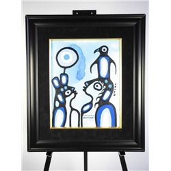 Christian Morrisseau (1969-) Original Painting Acr