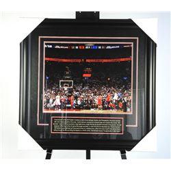 Toronto Raptors NBA Champs 16x20 Photo - 'The Shot