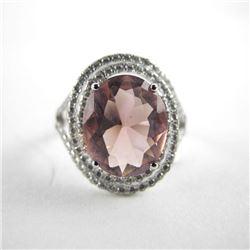 925 Silver Custom Designn Ring Swarovski Elements