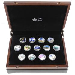 .9999 Fine Silver 13 x 10.00 Coins Collection with