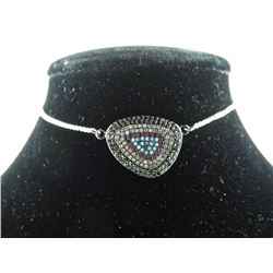 Fancy Bracelet Pave Set w/Swarovski Elements 2.15c