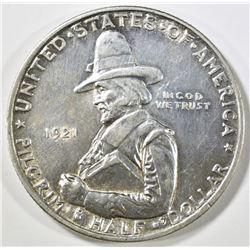 1921 PILGRIM COMMEM HALF DOLLAR AU/BU