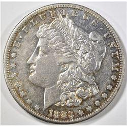 1883-S MORGAN DOLLAR, AU