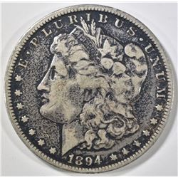 1894-O MORGAN DOLLAR, VF