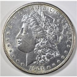 1901-S MORGAN DOLLAR BU