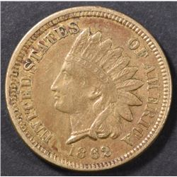 1862 INDIAN CENT XF