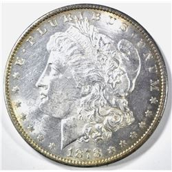 1878 7 TF REV OF 79 MORGAN DOLLAR CH BU