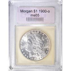 1900-O MORGAN DOLLAR  USCG GEM BU