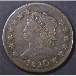 1810/9 LARGE CENT   FINE