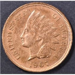 1907 INDIAN CENT  CH BU RB