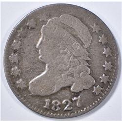 1827 BUST DIME  G/VG
