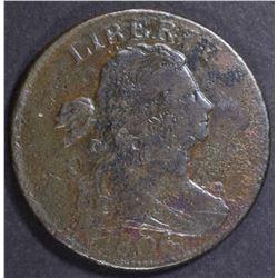 1806 LARGE CENT, FINE POROUS