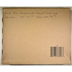 2012 U.S. MINT UNC SET SEALED IN ORIG BOX