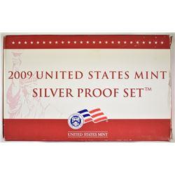 2009 U.S. SILVER PROOF SET IN ORIG BOX/COA