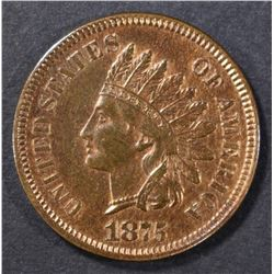 1875 INDIAN HEAD CENT  CH PR  RB