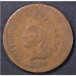 1866 INDIAN CENT GOOD