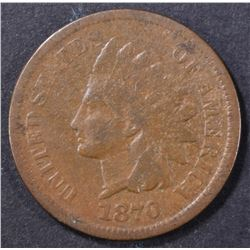 1870 INDIAN CENT VG