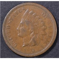 1873 INDIAN CENT FINE