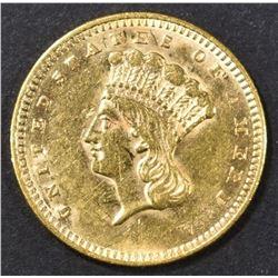 1861 TYPE 3 $1 GOLD BU