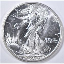 1934-D WALKING LIBERTY HALF DOLLAR  GEM BU