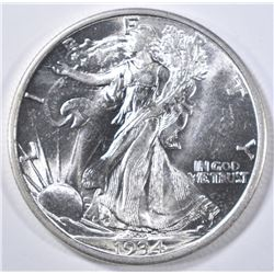 1934-D WALKING LIBERTY HALF DOLLAR  GEM BU