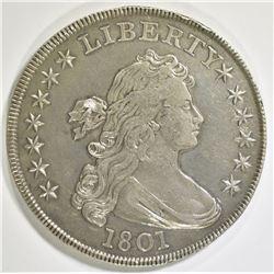 1801 BUST DOLLAR   XF RIM BUMP
