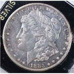 1883-S MORGAN DOLLAR, XF