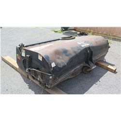 Quick Attach 84  Skidsteer Street Sweeper Attachment