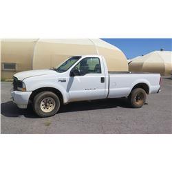 2004 Ford F250 Super Duty Truck, LIC 937TSV, Runs & Drives, See Video