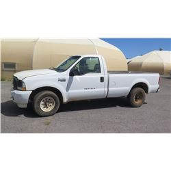 2004 Ford F250 Super Duty Truck, LIC 937TSV, Runs & Drives, See Video