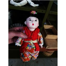 ANTIQUE DOLL FROM JAPAN