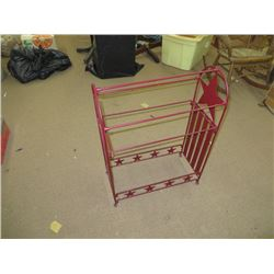 ANTIQUE BLANKET RACK