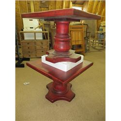 PAIR OF PEDESTAL TABLES