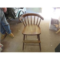 ANTIQUE YOUTH HIGH CHAIR