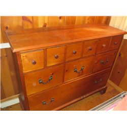 ANTIQUE CHEST OF 10 DRAWERS